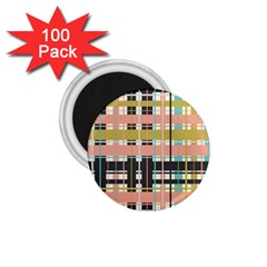 Plaid Pattern 1 75  Magnets (100 Pack)  by linceazul