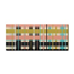 Plaid Pattern Cosmetic Storage Cases by linceazul
