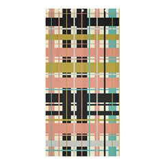Plaid Pattern Shower Curtain 36  X 72  (stall)  by linceazul