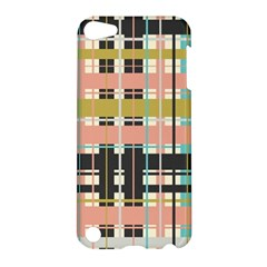 Plaid Pattern Apple Ipod Touch 5 Hardshell Case by linceazul