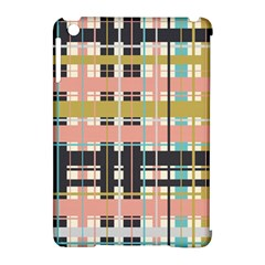 Plaid Pattern Apple Ipad Mini Hardshell Case (compatible With Smart Cover) by linceazul