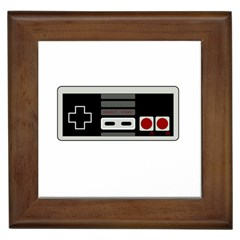 Video Game Controller 80s Framed Tiles by Valentinaart