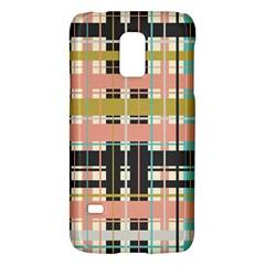 Plaid Pattern Galaxy S5 Mini by linceazul