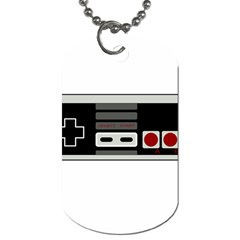 Video Game Controller 80s Dog Tag (two Sides) by Valentinaart