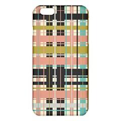 Plaid Pattern Iphone 6 Plus/6s Plus Tpu Case by linceazul