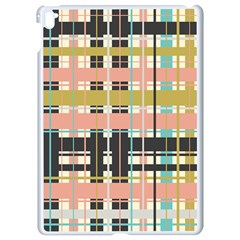 Plaid Pattern Apple Ipad Pro 9 7   White Seamless Case by linceazul