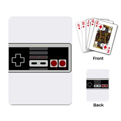 Video Game Controller 80s Playing Card by Valentinaart