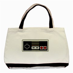 Video Game Controller 80s Basic Tote Bag (two Sides) by Valentinaart