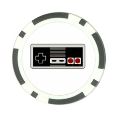 Video Game Controller 80s Poker Chip Card Guard (10 Pack) by Valentinaart