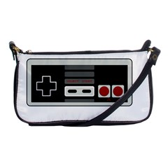 Video Game Controller 80s Shoulder Clutch Bags by Valentinaart