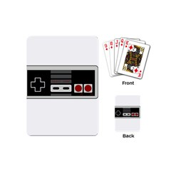 Video Game Controller 80s Playing Cards (mini)  by Valentinaart