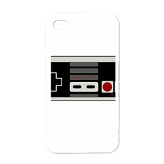 Video Game Controller 80s Apple Iphone 4 Case (white) by Valentinaart