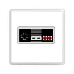 Video Game Controller 80s Memory Card Reader (square)  by Valentinaart