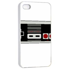 Video Game Controller 80s Apple Iphone 4/4s Seamless Case (white) by Valentinaart