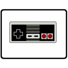 Video Game Controller 80s Double Sided Fleece Blanket (large)  by Valentinaart