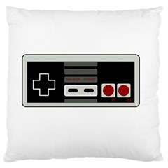 Video Game Controller 80s Large Flano Cushion Case (one Side) by Valentinaart