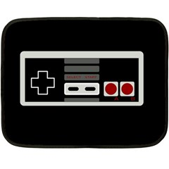 Video Game Controller 80s Double Sided Fleece Blanket (mini)  by Valentinaart