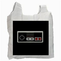 Video Game Controller 80s Recycle Bag (one Side) by Valentinaart