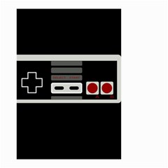 Video Game Controller 80s Small Garden Flag (two Sides) by Valentinaart