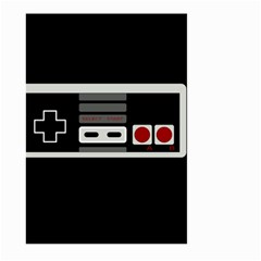Video Game Controller 80s Large Garden Flag (two Sides) by Valentinaart