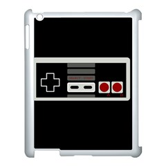Video Game Controller 80s Apple Ipad 3/4 Case (white) by Valentinaart