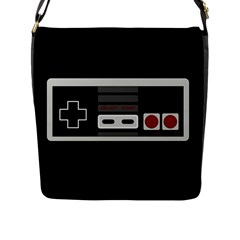 Video Game Controller 80s Flap Messenger Bag (l)  by Valentinaart
