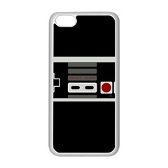 Video Game Controller 80s Apple Iphone 5c Seamless Case (white) by Valentinaart