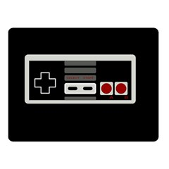 Video Game Controller 80s Double Sided Fleece Blanket (small)  by Valentinaart