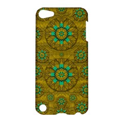 Sunshine And Flowers In Life Pop Art Apple Ipod Touch 5 Hardshell Case by pepitasart