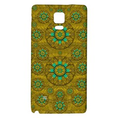Sunshine And Flowers In Life Pop Art Galaxy Note 4 Back Case by pepitasart
