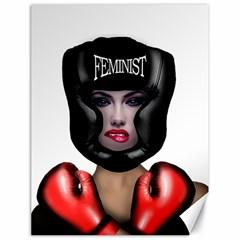Feminist Canvas 18  X 24   by Valentinaart