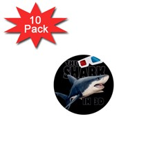 The Shark Movie 1  Mini Buttons (10 Pack)  by Valentinaart