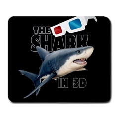 The Shark Movie Large Mousepads by Valentinaart