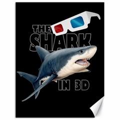 The Shark Movie Canvas 18  X 24   by Valentinaart