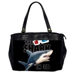 The Shark Movie Office Handbags (2 Sides)  by Valentinaart