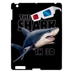 The Shark Movie Apple Ipad 3/4 Hardshell Case by Valentinaart