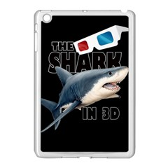 The Shark Movie Apple Ipad Mini Case (white) by Valentinaart