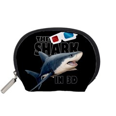 The Shark Movie Accessory Pouches (small)  by Valentinaart