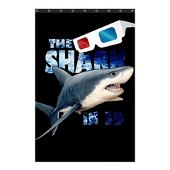 The Shark Movie Shower Curtain 48  X 72  (small)  by Valentinaart