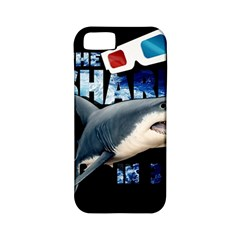 The Shark Movie Apple Iphone 5 Classic Hardshell Case (pc+silicone) by Valentinaart
