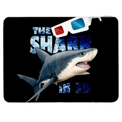 The Shark Movie Samsung Galaxy Tab 7  P1000 Flip Case by Valentinaart