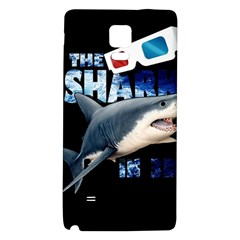 The Shark Movie Galaxy Note 4 Back Case by Valentinaart