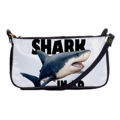 The Shark Movie Shoulder Clutch Bags by Valentinaart