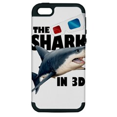 The Shark Movie Apple Iphone 5 Hardshell Case (pc+silicone) by Valentinaart