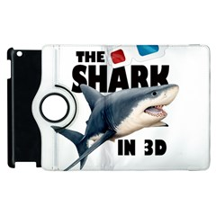 The Shark Movie Apple Ipad 2 Flip 360 Case by Valentinaart