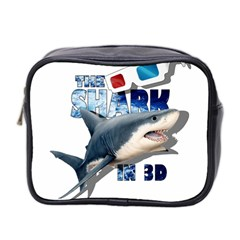 The Shark Movie Mini Toiletries Bag 2 Side by Valentinaart