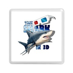 The Shark Movie Memory Card Reader (square)  by Valentinaart