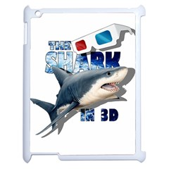 The Shark Movie Apple Ipad 2 Case (white) by Valentinaart