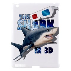 The Shark Movie Apple Ipad 3/4 Hardshell Case (compatible With Smart Cover) by Valentinaart
