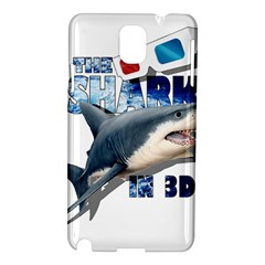 The Shark Movie Samsung Galaxy Note 3 N9005 Hardshell Case by Valentinaart